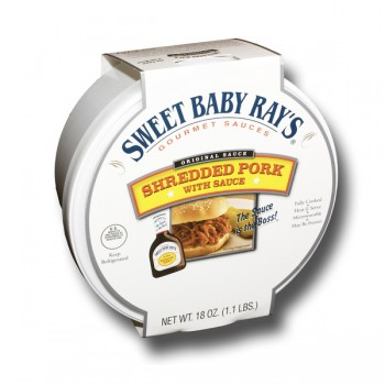 Sweet Baby Ray's Pork Shredded with Original Barbecue Sauce Fresh