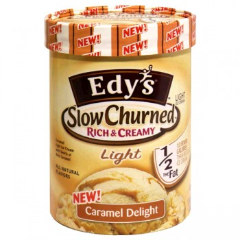 Dreyer's/Edy's Slow Churned Rich & Creamy Ice Cream Caramel Delight Light