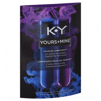 K-Y Yours & Mine Couples Lubricant