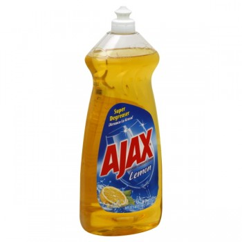 Ajax Dish Liquid Lemon