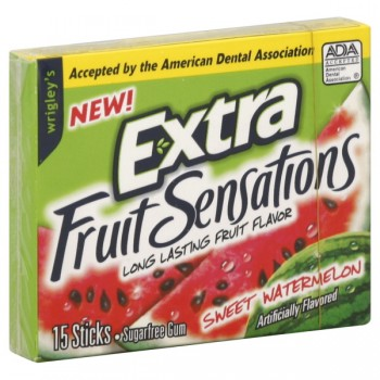 Wrigley's Extra Gum Fruit Sensations Sweet Watermelon Single Pack