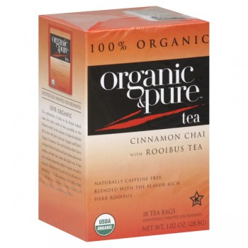 Organic & Pure Cinnamon Chai Rooibus Tea 100% Organic