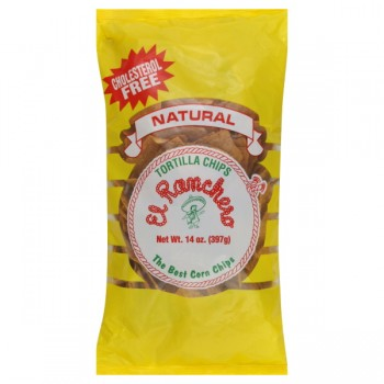 El Ranchero Tortilla Chips Natural