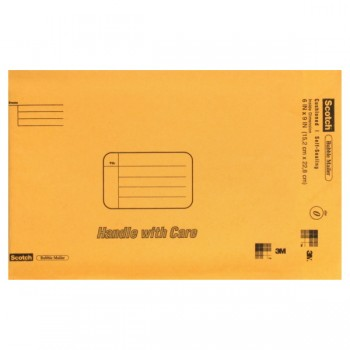 3M Scotch Bubble Mailer 6 X 9 Inch