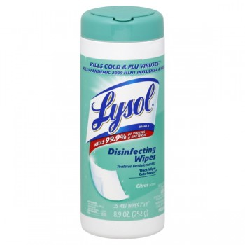 Lysol Disinfecting Wipes Citrus Scent