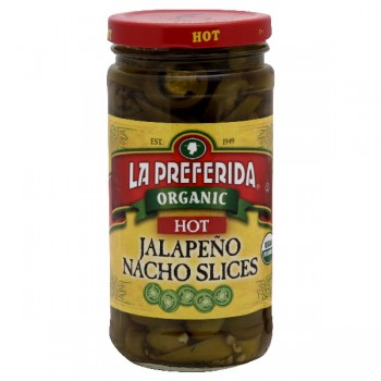 La Preferida Peppers Jalapenos Hot Nacho Slices Organic