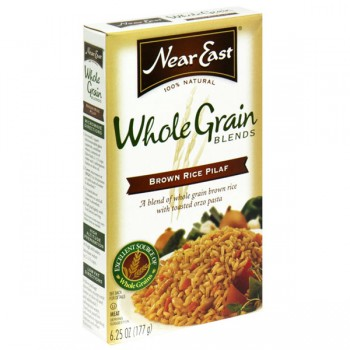 Near East Whole Grain Blends Rice Pilaf Brown 100% Natural