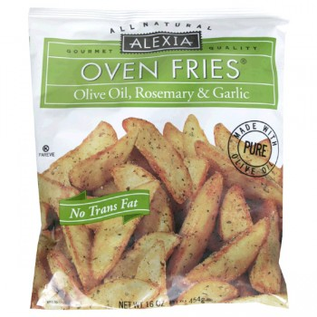 Alexia Oven Fries Olive Oil, Rosemary & Garlic All Natural