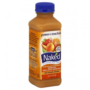Naked Power-C Machine Boosted 100% Juice Smoothie No Sugar Added Natural