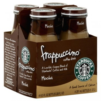 Starbucks Mocha Frappuccino - 4 pk