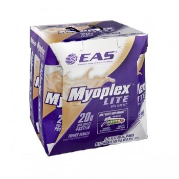 EAS Myoplex Lite Dietary Protein Supplement RTD French Vanilla - 4 pk