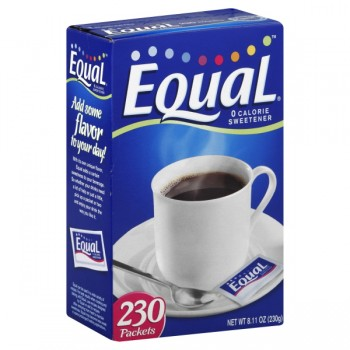 Equal Sweetener 0 Calories Packets - 200 ct
