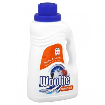 Woolite Complete Liquid Detergent Cleans & Cares All Fabrics & Colors