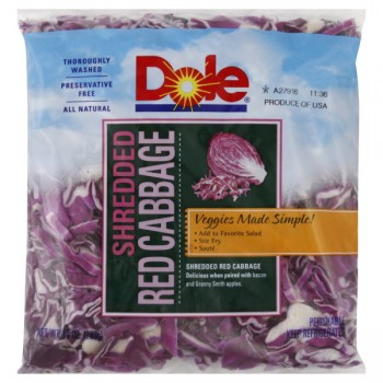 Cabbage Red Shredded
