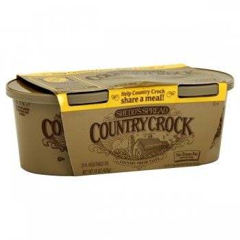 Shedd's Spread Country Crock Vegetable Oil Spread Original - 2 ct