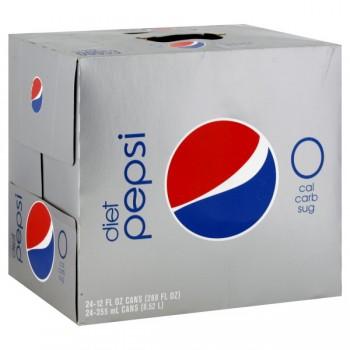 Pepsi Diet - 24 pk