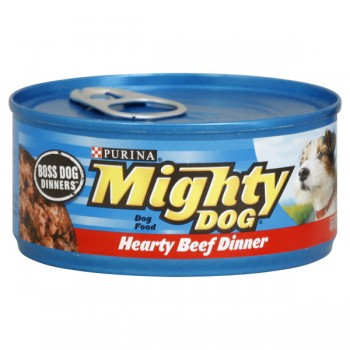Purina Mighty Dog Wet Dog Food Hearty Beef Dinner
