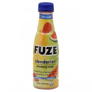 FUZE Slenderize Beverage Strawberry Melon Low Calorie