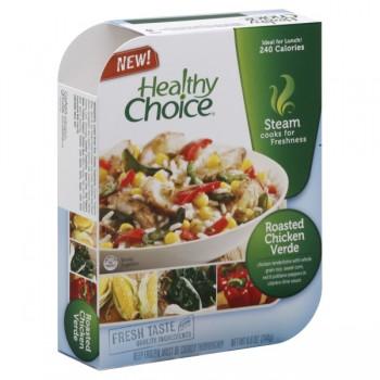 Healthy Choice Lunch Steamer Roasted Chicken Verde