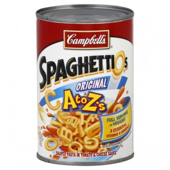 Campbell's SpaghettiOs A to Z's