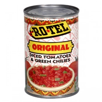 Ro-Tel Tomatoes Diced with Green Chili