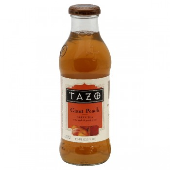 Tazo Green Tea Giant Peach with Apple & Peach Juices