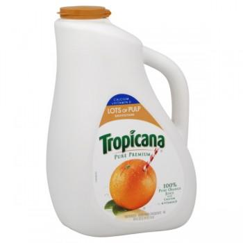 Tropicana Pure Premium 100% Pure Orange Juice Calcium High Pulp
