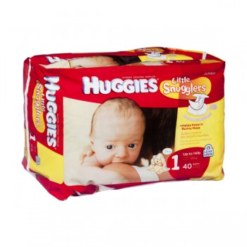 Huggies Little Snugglers Diapers Size 1 Both Jumbo Pack Up to 14 lbs