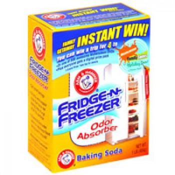Arm & Hammer Baking Soda Fridge-n-Freezer Odor Absorber