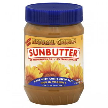 SunButter Natural Crunch Made with Sunflower Seeds - Contains No Peanuts