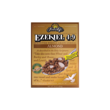 Food For Life Cereal Ezekiel 4:9 Almond Sprouted Whole Grain Cereal