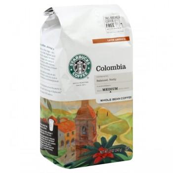 Starbucks Colombia Latin America Medium Coffee (Whole Bean)