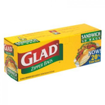 Glad Zipper Sandwich Bags