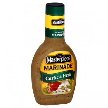 KC Masterpiece Marinade Garlic & Herb