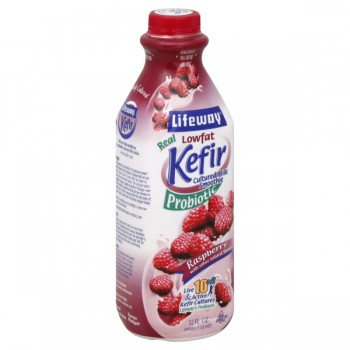 Lifeway Kefir Probiotic Cultured Milk Smoothie Raspberry Low Fat