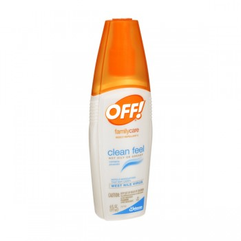 OFF! Family Care Insect Repellent II Clean Feel Pump Spray