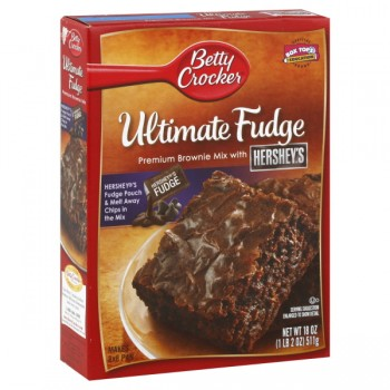 Betty Crocker Supreme Brownie Mix Hershey's Ultimate Fudge