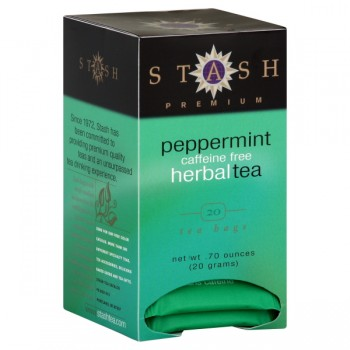 Stash Peppermint Premium Herbal Tea Bags Caffeine Free