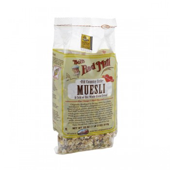 Bob's Red Mill Whole Grain Cereal Muesli Old Country Style with Flaxseed