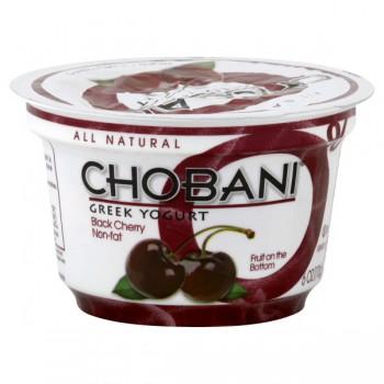 Chobani Greek Fruit on the Bottom Yogurt Black Cherry 0% Non Fat Natural