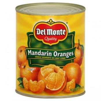 Del Monte Mandarin Orange Whole Segments in Light Syrup