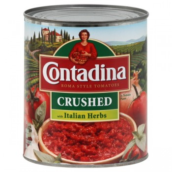 Contadina Recipe Ready Tomatoes Crushed Italian Herb