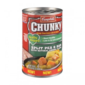 Campbell's Chunky Healthy Request Soup Split Pea & Ham