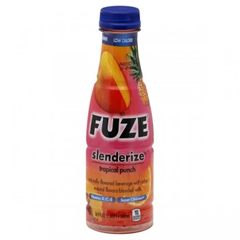 FUZE Slenderize Beverage Tropical Punch Low Calorie