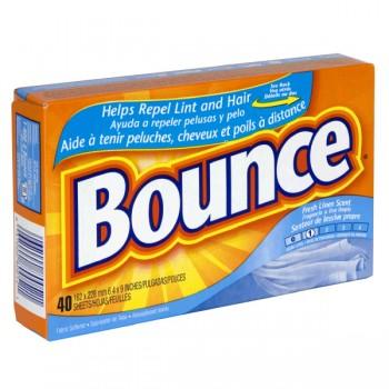 Bounce Dryer Sheets Fresh Linen Scent