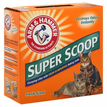 Arm & Hammer Super Scoop Cat Litter Clumping Fresh Scent