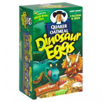 Quaker Instant Oatmeal Dinosaur Eggs Maple N Brown Sugar - 8 ct