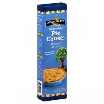 Immaculate Baking Co. Pie Crusts Ready To Bake 9 Inch - 2 ct All Natural