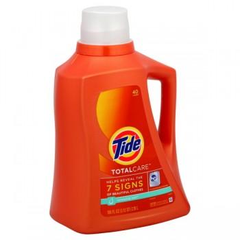 Tide TotalCare Liquid Laundry Detergent HE Renewing Rain