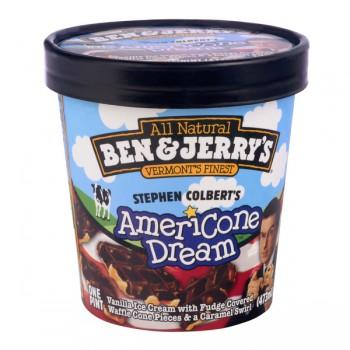 Ben & Jerry's Ice Cream Stephen Colbert's Americone Dream